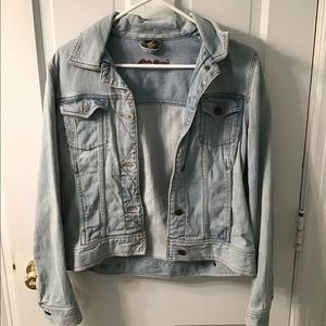Eddie Bauer Light Wash Jean Jacket